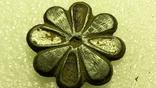 Старинная пуговица с эмалью, фото №2