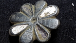 Старинная пуговица с эмалью, фото №3