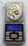 1 доллар год Змеи Серебро и позолота Остров Ниуэ, фото №5