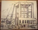 ЧАЕС стройка 1976 год.41-50см., фото №3