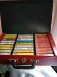 Кофр с кассетами 30 шт., фото №2