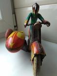 Мотоцикл с коляской 50 е годы., фото №6