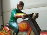 Мотоцикл с коляской 50 е годы., фото №7