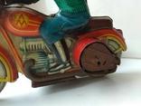 Мотоцикл с коляской 50 е годы., фото №9