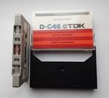 Аудиокассета TDK D-C46 (Jap 1979), фото №6