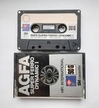 Аудиокассета AGFA Super ferro 90+6 (GER 1978), фото №2