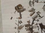 Запчасти мелкие разные на механизмы кварцевые часы, фото №8