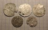 Средневековые монеты 5 шт., фото №2