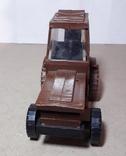 Игрушка трактор МТЗ Беларусь. Cделано в СССР, длина 13 см, фото №4