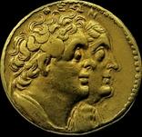 Октодрахма Птолемея IІ, Египет, Александрія. 282-246 рр. до н. ери, золото, фото №3