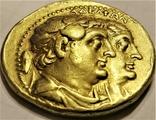 Октодрахма Птолемея IІ, Египет, Александрія. 282-246 рр. до н. ери, золото, фото №9