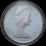 10 Долларов 1986 Жаба - 25 лет Всемирному фонду дикой природы (0.925, 28.28г), Фиджи, фото №3