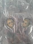 Икона Печерская БМ в киоте, фото №3