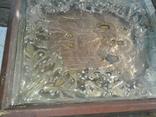 Икона Печерская БМ в киоте, фото №12