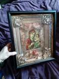 Старинная икона Тихвинская Пресвятой Богородицы, фото №4