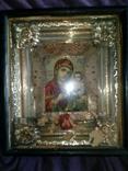 Старинная икона Тихвинская Пресвятой Богородицы, фото №5