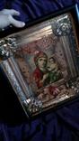 Старинная икона Тихвинская Пресвятой Богородицы, фото №7