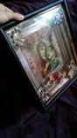 Старинная икона Тихвинская Пресвятой Богородицы, фото №9