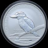 1 Доллар 2007 Кукабарра 1oz, Австралия Унция, фото №2