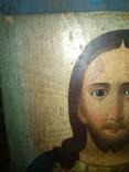 Икона Исус старинная, фото №3