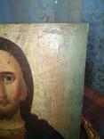 Икона Исус старинная, фото №4