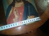 Икона Исус старинная, фото №9