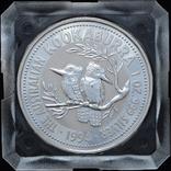 1 Доллар 1994 Кукабарра 1oz, Австралия Унция, фото №2