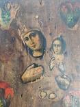 Икона Дева Мария и Младенец, фото №10