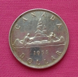 1 доллар Канада 1953 г., фото №4