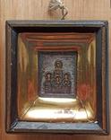 Икона Веры, Надежды, Любви и матери их Софии, оклад серебро 84 проба, фото №2