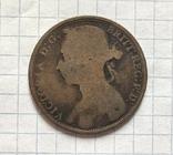 1 фартинг 1891, фото №2