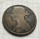 1 фартинг 1891, фото №3