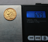 20 франков 1902 г Швейцария золото 6.50 г, фото №4