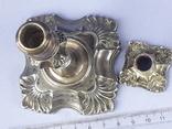 Подсвечник на одну свечу, серебро (с наполнителем), 132 гр., Великобритания, фото №4