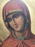 Икона Пресвятой Богородицы, фото №5