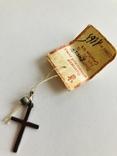Крестик серебро 916 пробы вес1,15 гр винтаж СССР, фото №3