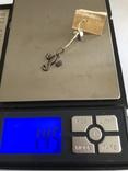 Скорпион кулон подвеска серебро 925 СССР, фото №5