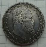 2 марки, Вюртемберг, 1901 год., фото №2