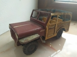 Жестяная машинка.Jeep Rural Willys.50e., фото №2