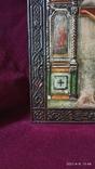 Старинная Икона Господа Иисуса Христа со святыми, фото №4