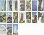 """Карточки-вкладыши коллекционные """"Features of the World""""(38 листов) Англия, фото №3"""