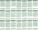 """Карточки-вкладыши коллекционные """"Features of the World""""(38 листов) Англия, фото №4"""
