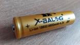 Аккумулятор 18650 Bailong Gold 8800 Mah Литий-Ионный Mb, фото №2