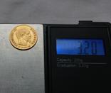 10 франков 1859 г Наполеон III Франция золото 3.20 г, фото №4