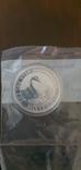 Серебрянная монета Лебедь Австралии 2019, фото №2