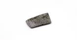 Заготовка-вставка з метеорита Seymchan, 1,1 г, із сертифікатом автентичності, фото №12