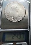 Рубль 1737 лот 2, фото №8