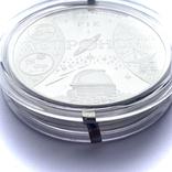 100 гривен. 2009. Международный год астрономии (серебро 999, вес 1000 г), фото №6