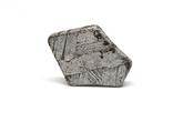 Заготовка-вставка з метеорита Seymchan, 1,8 г, із сертифікатом автентичності, фото №6