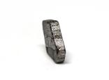 Заготовка-вставка з метеорита Seymchan, 1,8 г, із сертифікатом автентичності, фото №7